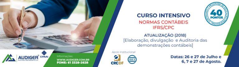 Curso Intensivo – Normas Contábeis IFRS/CPC