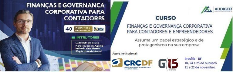 Curso Finanças e Governança Corporativa