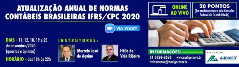 ATUALIZAÇÃO ANUAL DE NORMAS CONTÁBEIS BRASILEIRAS IFRS/CPC 2020