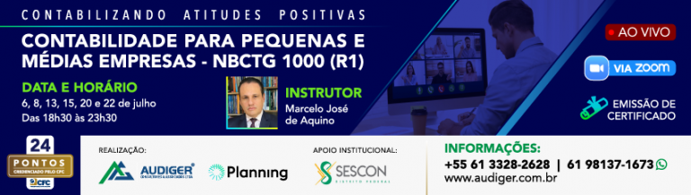 Práticas Contábeis Adotadas no Brasil (CPC-IFRS)